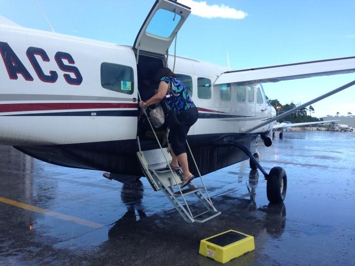 Our tiny plane to Eleuthera