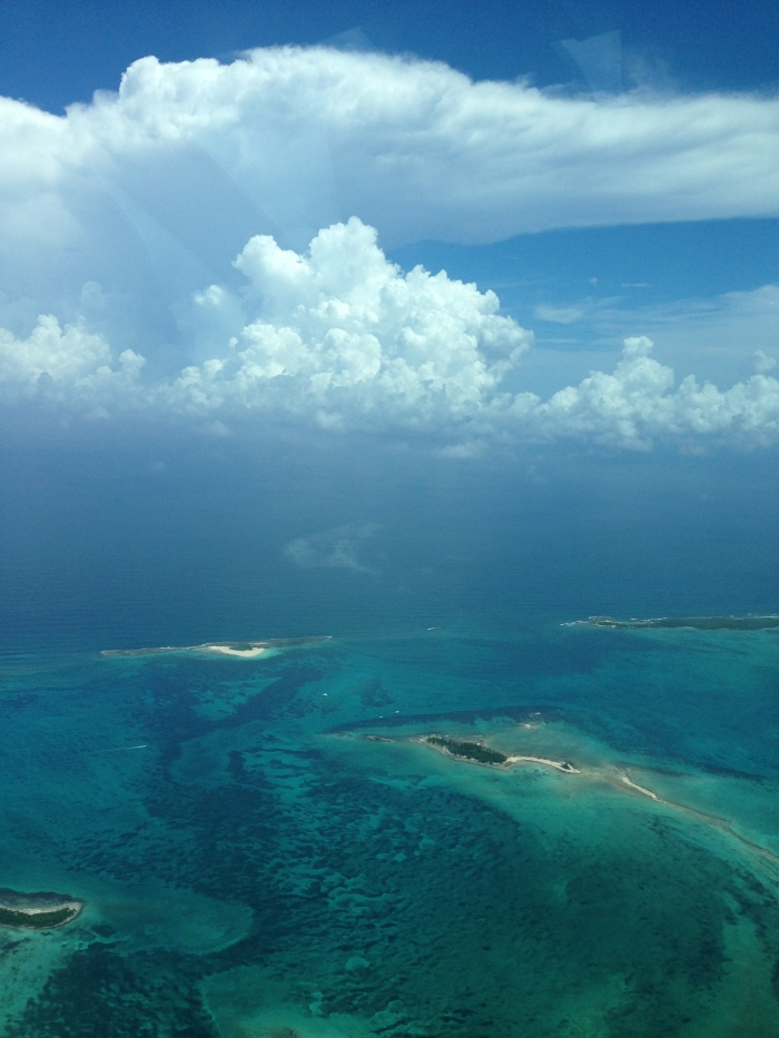 and the flight to Abaco.