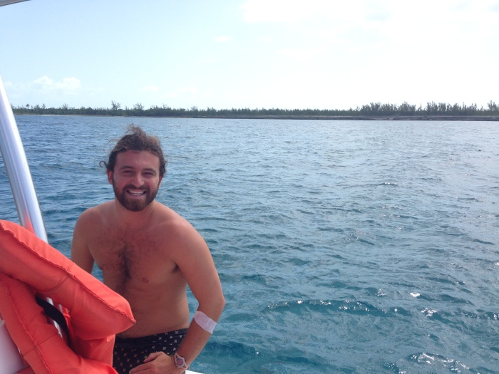 And I found a Nick! This indomitable cute fella is teaching marine ecology for a year - how cool is that?