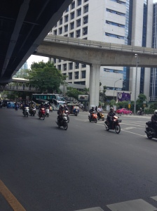 Mopeds and Motorcycles.