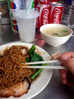 and noodles at an alleyway stand (s/o to my GI tract for its personal growth these past months.)