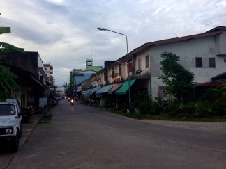 Chumphon strip - really liked this city!