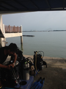 the view from Poni Divers