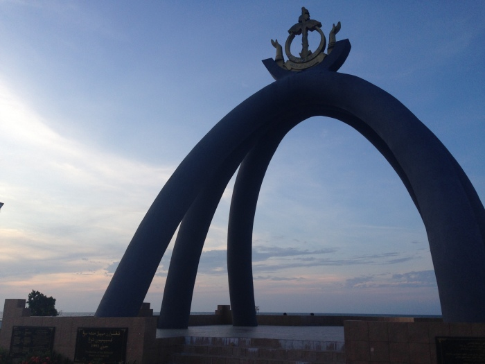 The Billionth Barrel Monument