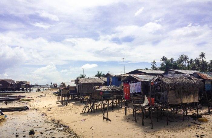 bajau village on Mabul