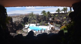 Jameos, once you emerge.